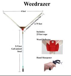 Weedrazer